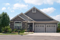 Small House with Two Car Garage